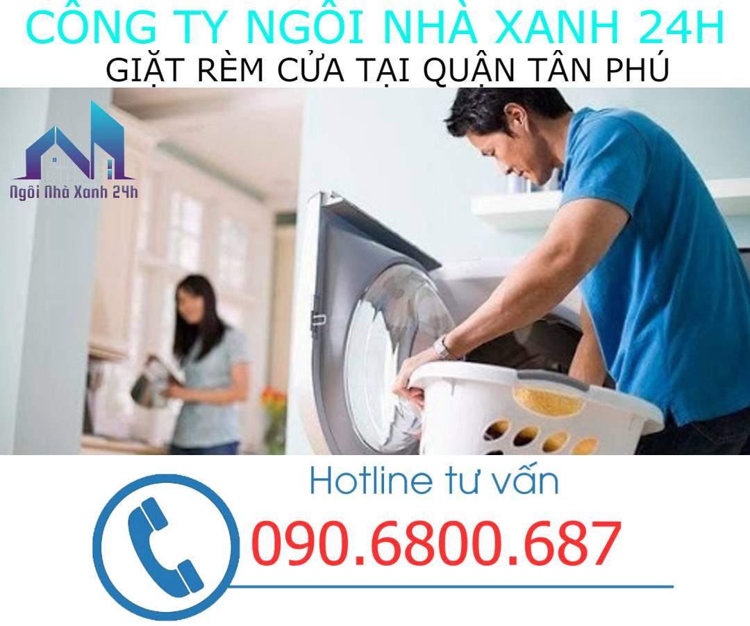 Có nên tự giặt rèm cửa tại nhà quận Tân Phúkhông