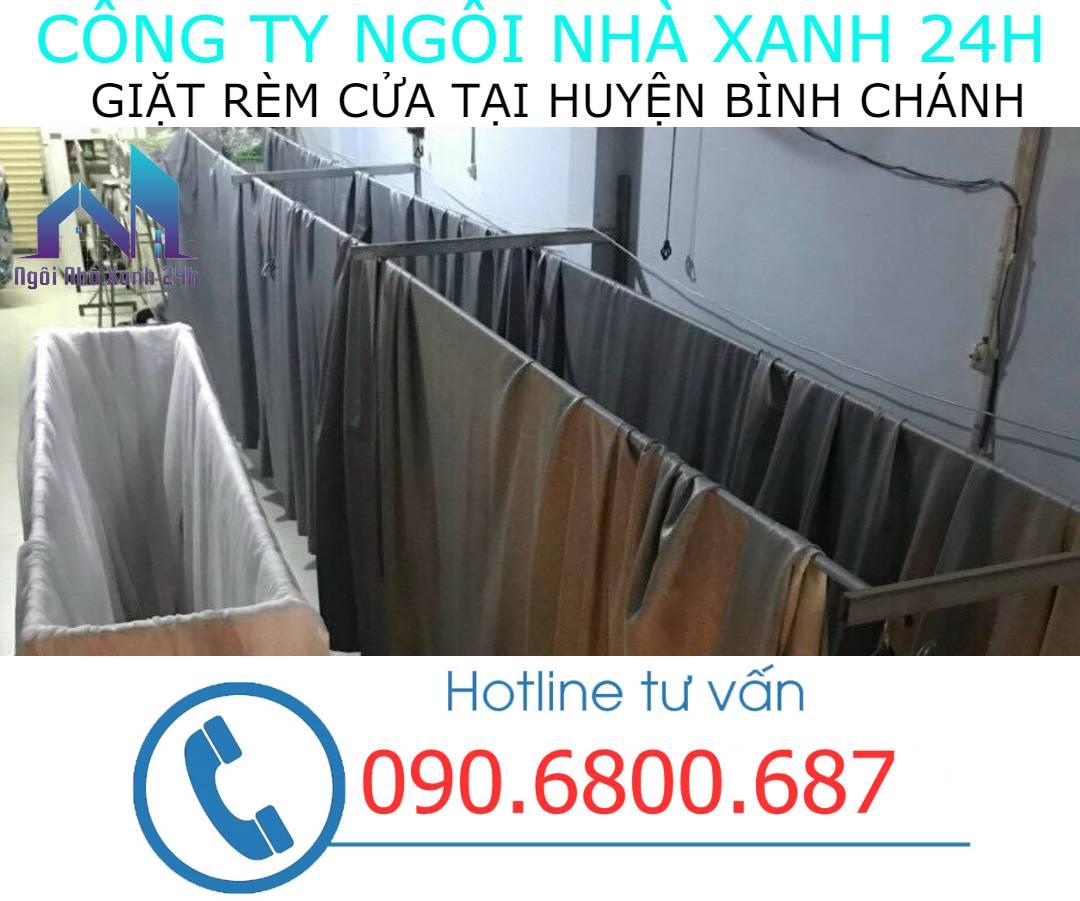 Hệ thống phơi giặt màn tại nhà Huyện Bình Chánh