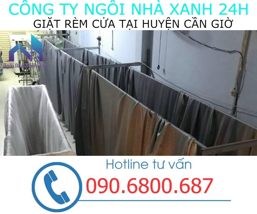 Hệ thống phơi giặt màn tại nhà Huyện Cần Giờ