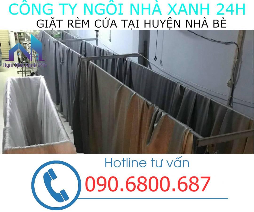 Hệ thống phơi giặt màn tại nhà Huyện Nhà Bè