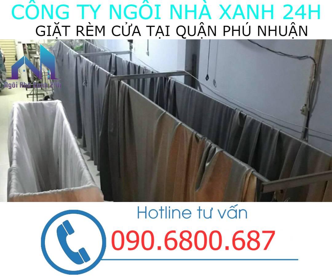 Hệ thống phơi giặt màn tại nhà quận Phú Nhuận