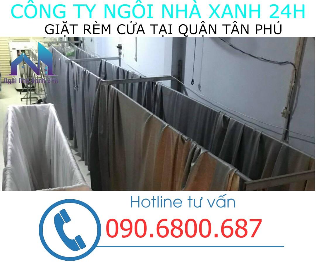 Hệ thống phơi giặt màn tại nhà quận Tân Phú