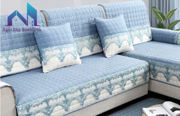 Làm sạch ghế sofa nỉ bằng cách thay vỏ bọc ngoài.